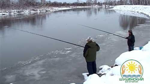 Рыбалка в санатории